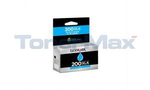 LEXMARK NO 200XLA RP INK CARTRIDGE CYAN HY (14L0198)