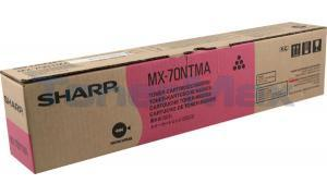 SHARP MX-6200N/7000N TONER CART MAGENTA (MX-70NTMA)