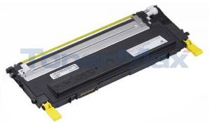 Compatible for DELL 1235CN TONER CARTRIDGE YELLOW (330-3579)