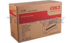 OKIDATA C710N SERIES FUSER UNIT 120V (43854901)