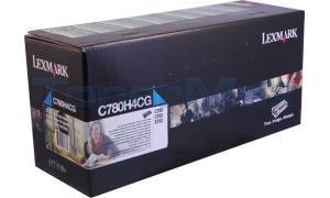 LEXMARK C780 PRINT CARTRIDGE CYAN RP TAA 10K (C780H4CG)