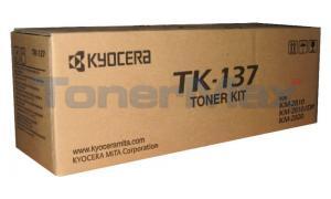 KYOCERA MITA KM-2810 TONER KIT BLACK (TK-137)