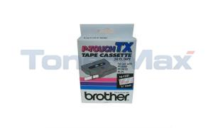 BROTHER P-TOUCH TAPE RED/CLEAR (1/2 X 50) (TX-1321)