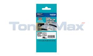 BROTHER TZ ID FLEXIBLE TAPE BLACK ON WHITE 36 MM X 8 M (TZE-FX261)