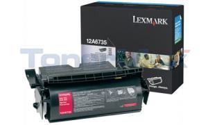 LEXMARK T520 TONER CARTRIDGE BLACK 20K (12A6735)