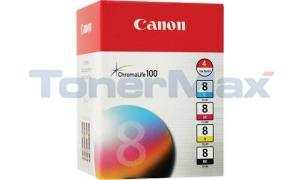 CANON CLI-8 INK TANK COLOR MULTI PACK (0620B010)