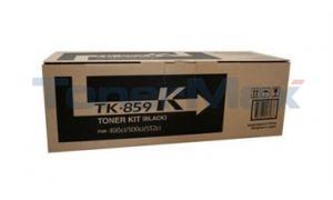 COPYSTAR CS-400CI CS-500CI TONER KIT BLACK (TK-859K)