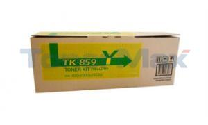 COPYSTAR CS-400CI CS-500CI TONER KIT YELLOW (TK-859Y)