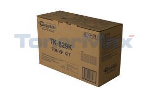 COPYSTAR C-2520 TONER BLACK (TK-829K)