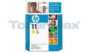 HP NO 11 PRINTHEAD YELLOW (C4813A)