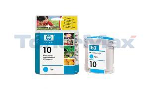 HP NO 10 INK CART CYAN 28ML (C4841A)