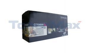 LEXMARK C770DN TONER CARTRIDGE MAGENTA RP HY TAA (C7706MH)