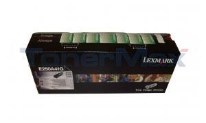 LEXMARK E250D GOV TONER BLACK RP 3.5K (E250A41G)