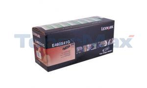 LEXMARK E460 TONER CARTRIDGE BLACK RP 15K (E460X41G)