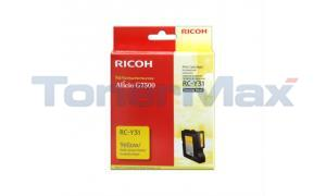 RICOH G7500 INKJET CARTRIDGE YELLOW (405503)