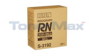 RISO RN 05LA MASTER A4-L (S-3192)