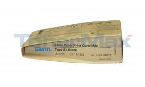 SAVIN SDC-555 TYPE S1 TONER BLACK (5480)