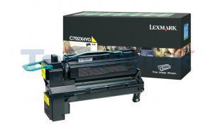 LEXMARK C792 PRINT CART YELLOW XHY RP TAA (C792X4YG)