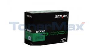 LEXMARK OPTRA T632 TONER LABEL RECOND (12A7630)