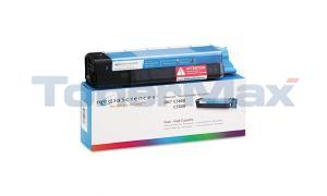 MEDIA SCIENCES TONER CYAN HY FOR OKI C5500 C5800 (MSOK5855CHC)