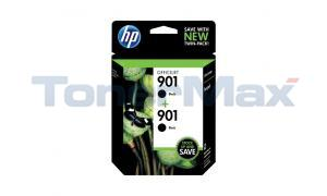 HP NO 901 INK CARTRIDGE BLACK TWIN PACK (CZ075FN#140)