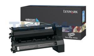 LEXMARK C750 PRINT CART CYAN 15K (10B032C)