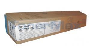 SHARP MX-4110N/5110N TONER CTG CYAN (MX-51NTCA)