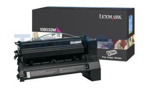 LEXMARK C750 PRINT CART MAGENTA 15K (10B032M)