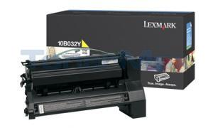 LEXMARK C750 PRINT CART YELLOW 15K (10B032Y)