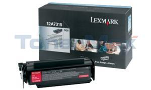 LEXMARK T420 TONER CARTRIDGE BLACK 10K (12A7315)