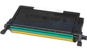 Compatible for SAMSUNG CLP610ND TONER CARTRIDGE YELLOW 5K (CLP-Y660B/XAA)