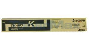 KYOCERA MITA TASKALFA 205C TONER KIT BLACK (TK-897K)