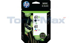 HP 61XL/61 INK BLACK/COLOR COMBO PACK (CZ138FN)