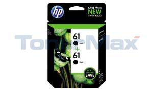 HP 61 INK BLACK TWIN PACK (CZ073FN)