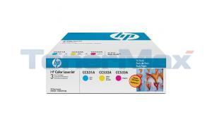 HP LASERJET 304A TONER CARTRIDGES TRI-PACK (CF340A)