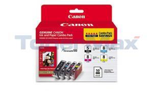 CANON PGI-5/CLI-8 INK CMYK COMBO PACK (0628B027)