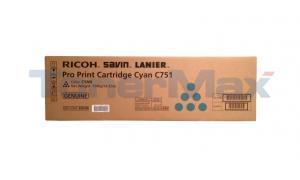 RICOH SL PRO C751 PRINT CARTRIDGE CYAN (828188)
