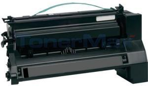 Compatible for LEXMARK C780 X782 TONER CARTRIDGE BLACK 6K RP (C780A1KG)