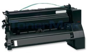 Compatible for LEXMARK C782 X782 TONER CARTRIDGE BLACK RP 15K (C782X1KG)
