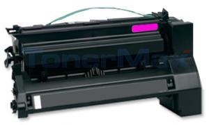 Compatible for LEXMARK C782 X782 TONER CTG MAGENTA RP 15K (C782X1MG)