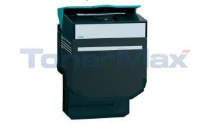 Compatible for LEXMARK C54X TONER CART BLACK HY RP TAA (C540H4KG)