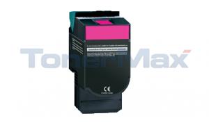 Compatible for LEXMARK CV54X/XV544 TONER CART MAGENTA HY RP (CV540H1M)