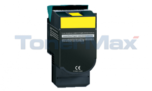 Compatible for LEXMARK C54X TONER CART YELLOW HY RP TAA (C540H4YG)
