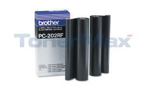 BROTHER PC202RF REFILL ROLLS BLACK (PC-202RF)