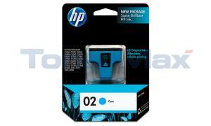 HP NO 02 INK CYAN (C8771WN)