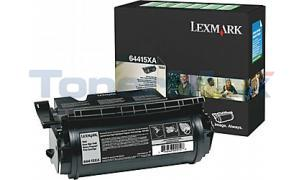 LEXMARK T644 RP PRINT CARTRIDGE BLACK 32K (64415XA)