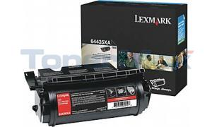 LEXMARK T644 PRINT CARTRIDGE BLACK 32K (64435XA)