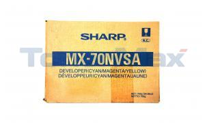 SHARP MX-5500N/6200N DEVELOPER CMY (MX-70NVSA)