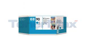 HP DESIGNJET 4000 NO 90 INK CYAN 225ML (C5060A)