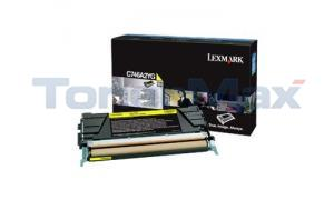LEXMARK C746 TONER CARTRIDGE YELLOW (C746A2YG)